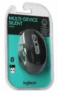 Logitech M590 Wireless Silent Mouse - Graphite Tonal