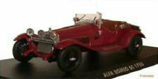 Voitures, camions et fourgons miniatures rouges Alfa Romeo