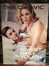 Sweet Bird Of Youth The Old Vic Program Kim Cattrall 2013
