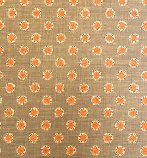 VANESSA ARBUTHNOTT Pretty Maids Duck Eggs Pumpkin Winter Printed Linen 1+ yd New