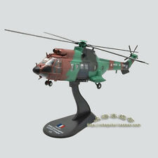 French As532 Cougar Puma helicopter alloy model(L)