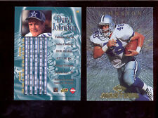 1997 CE Collectors Edge Masters DARYL JOHNSTON Dallas Cowboys Card