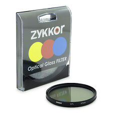 Zykkor 67mm Circular Polarizer CPL Filter for camera lens