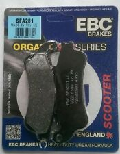 Honda FES125 Pantheon (1998 to 2006) EBC FRONT Brake Pads (SFA281) (1 Set)