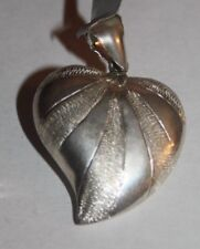 STERLING SILVER 925 HEART PENDANT HERE IN HAWAII
