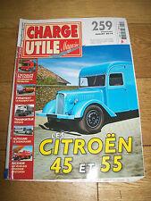CHARGE UTILE MAGAZINE-259 JUILLET 2014-CITROËN 45 55/SCENICRUISER