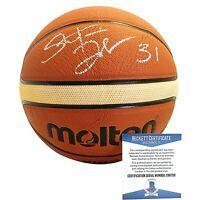 Stefanie Dolson USWNT USA Signed FIBA Basketball WNBA Beckett BAS Autograph Cert