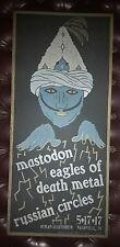 MASTODON & EAGLES OF DEATH METAL Ryman HATCH SHOW PRINT Nashville Poster EODM
