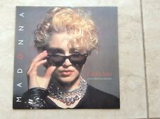 "Madonna Lucky Star 12"" Vinyl - Sunglasses 1983 UK Pressing Matrix A1/B1 Rare!!!!"