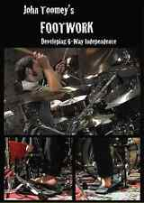 """John Toomey's-Footwork"" PERCUSSION/DRUM METHOD-INSTRUCTION BRAND NEW DVD SEALED"