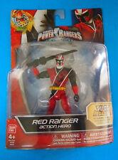 SABAN'S POWER RANGERS NINJA STEEL RED RANGER COLLECTOR ACTION FIGURE, NEW