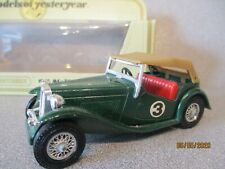 MATCHBOX Yesteryear Y-8 1945  MG -TC  British Racing Green #3