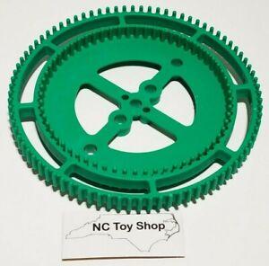 KNEX Multi Track Green Gear Rare 5 in. 84, 62 Teeth 90996 K'NEX Machines Parts