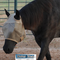 CASHEL FLY MASK FOR HORSE STANDARD FLY SUN PROTECTION ECONOMY