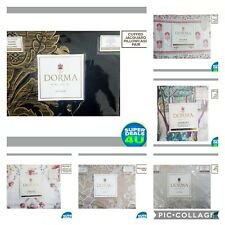 DORMA Pillowcases ** Free UK Postage **