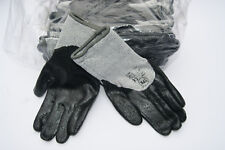 Pack 12 Cut resistant safety gloves Nitrile coated palm & fingers Size 9 Medium