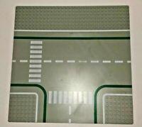 Lego Intersection 32x32 Grey Baseplate Intersection Crosswalk Pattern 2360