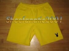 Supreme Playboy Sweatshort Short Medium Yellow Box Logo bunny icon back pocket
