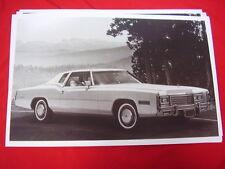 1977 CADILLAC ELDORADO COUPE  11 X 17  PHOTO /  PICTURE