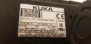 Siemens-KUKA-Servomotor-1FK7034-5AZ91-1ZZ9-Z-Top-Zustand