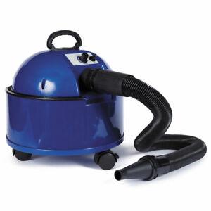 Blue Double Dry Flex Professional Pet Grooming Dryer Flexible Hose Attachments