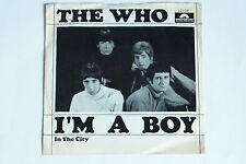 """THE WHO -I'm A Boy- 7"""" 45"""