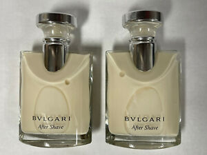 BVLGARI POUR HOMME by BVLGARI 1.7 fl oz / 50 ML After Shave Balm Lot 2 Pc