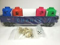 Lionel 6-52185 Monopoly Chance Gondola w/Uncle Pennybags Canisters & Game Tokens