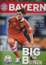 Programm 2006/07 FC Bayern München - Bayer Leverkusen