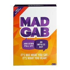 Mad Gab 2018 The Game NEW Family Fun Card IN STOCK