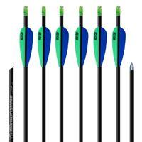 6 Carbonpfeile Easton Inspire 570 Nachfolger des Beman Carbon Flash