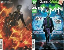 Batman #95 Main & Mattina Variant Joker War DC Comics 1st Print 2020 unread NM