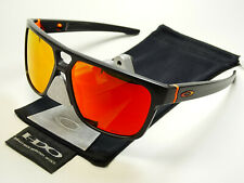 Oakley Crossrange Matte Carbon Ruby Prizm Sonnenbrille Mainlink Drop Point Chain