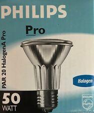 Philips pro Lámpara Halógena PAR20 50W E27 230V 25°/10° Halogena Código: