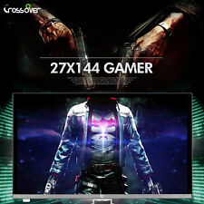 "Crossover - New 27"" 27X144 GAMER 1920×1080 144Hz FHD LED 1ms Monitor"