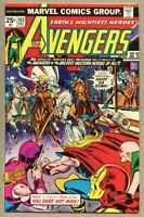 Avengers #142-1975 fn+ 6.5 George Perez Rawhide Kid Night Rider