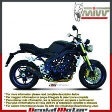 Scarico MIVV Suono Nero Acciaio inox Basso per Triumph Speed Triple 2007 > 2010