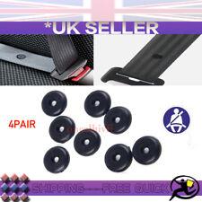 4X Universal Car Seat Belt Buckle Clip Holder Stop  Stopper Button Retainer