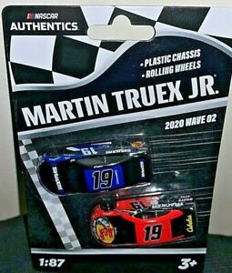 NASCAR AUTHENTICS 2020 1/87 #19 MARTIN TRUEX JR. BASS PRO SHOPS 2 CAR SET WAVE 2