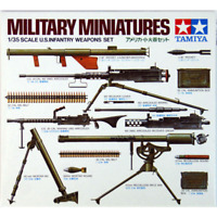 Tamiya 35121 U.S. Infantry Weapons 1/35