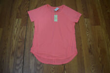 Nwt Womens Tangerine Orange Coral Casual Exercise Running Shirt Size S