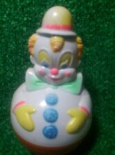 70s VINTAGE CLOWN DOLL ROLY POLY BABY TOY