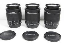 CANON EF-S 18-55mm IS STM Macro lens fr EOS 7D T6i T6 T7 T5i T7i 80D SL2 70D etc