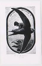 Exlibris from Peter Lazarov - Swift  Apus Apus