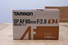 Tamron sp af 90mm f/2.8 di macro 1:1 para Nikon OVP