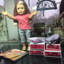 """18"""" AMERICAN GIRL DOLL ISABELLE + PLUS OUTFITS"""