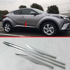 Toyota CHR C-HR 2016 2017 2018 ABS Chrome Exterior Lower Side Door