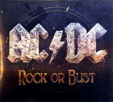 AC/DC / ROCK OR BUST / SPECIAL EDITION INCLUDING PATCH AND 3D COVER! RAREST OOP