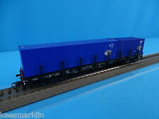 Marklin 4663 Heavy Duty Flat car with Containers TFG
