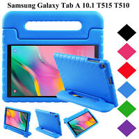 Kids Shock Proof Foam Handle Case Cover For Samsung Galaxy Tab A 10.1 T510 T515